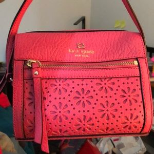 ⭐️Best Price!⭐️Kate Spade Pink Embossed Crossbody